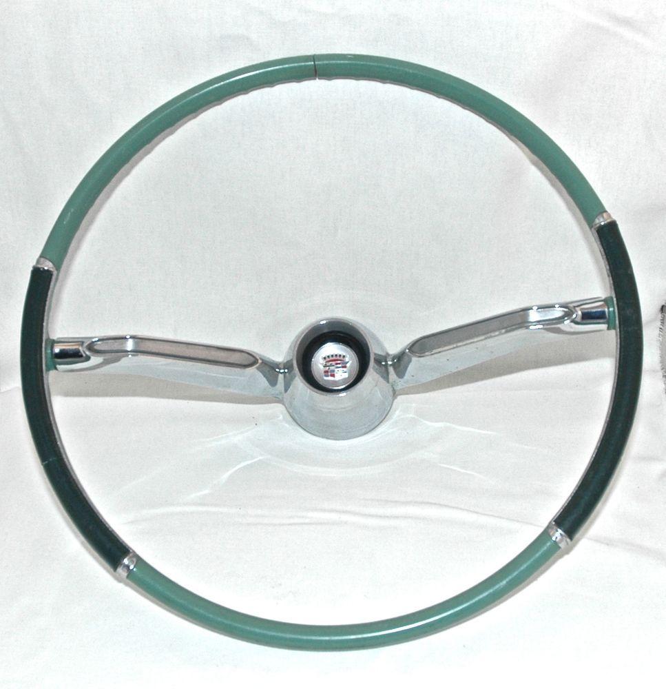 Original * 1960 * Cadillac * STEERING WHEEL * Vintage Car Part ...