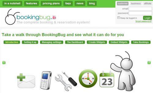 TLabs Showcase – BookingBug