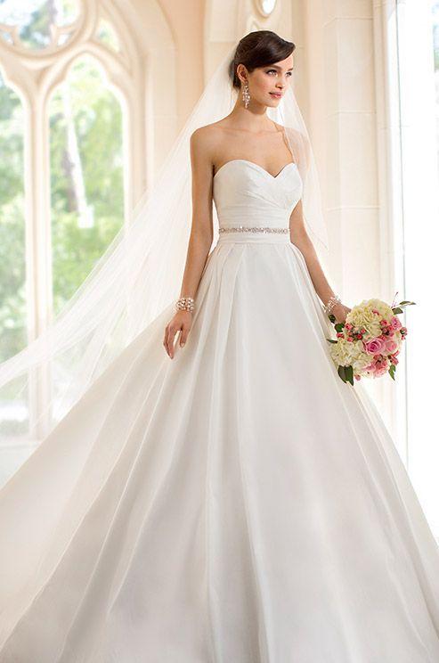 Simple Elegant Wedding Dresses 2014stella York Spring 2014
