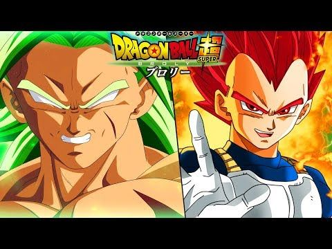 The NEW Dragon Ball Super Broly Movie Reveals Vs Vegeta Goku And