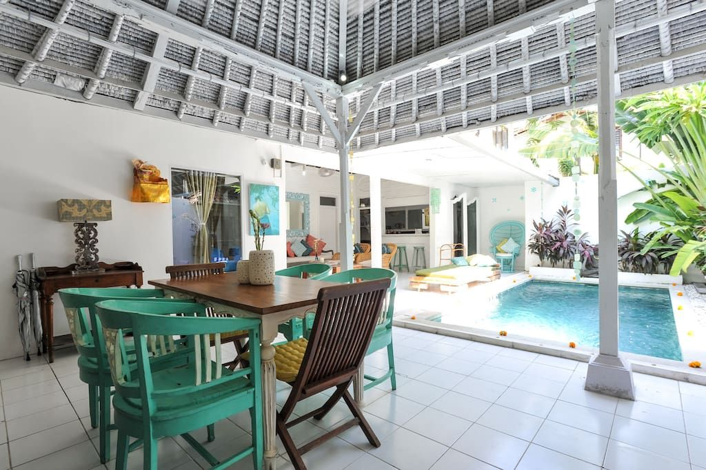 Check Out This Awesome Listing On Airbnb Private Family Villa Pool 66beach Villas For Rent In Legian Get 25 Credit With A Villa A Louer Bali Villa Bali