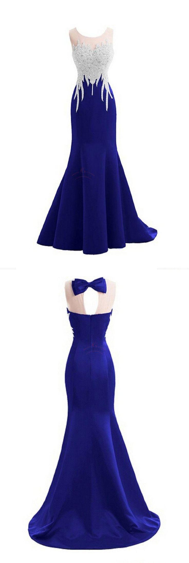 Nice sparkly crystal prom dressesmermaid prom dressessexy backless