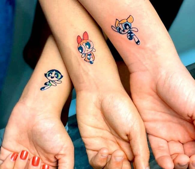 65 Hearty Matching Best Friend Tattoos and Meanings