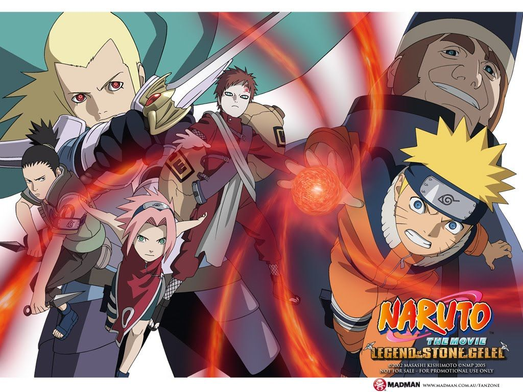 Naruto The Movie 2 Legend Of The Stone Of Gelel Bahasa Indonesia 1080 Naruto The Movie Naruto Naruto Movie 2