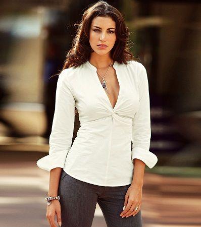 529da06e2f Resultado de imagen para blusas de vestir elegantes manga tres cuartos