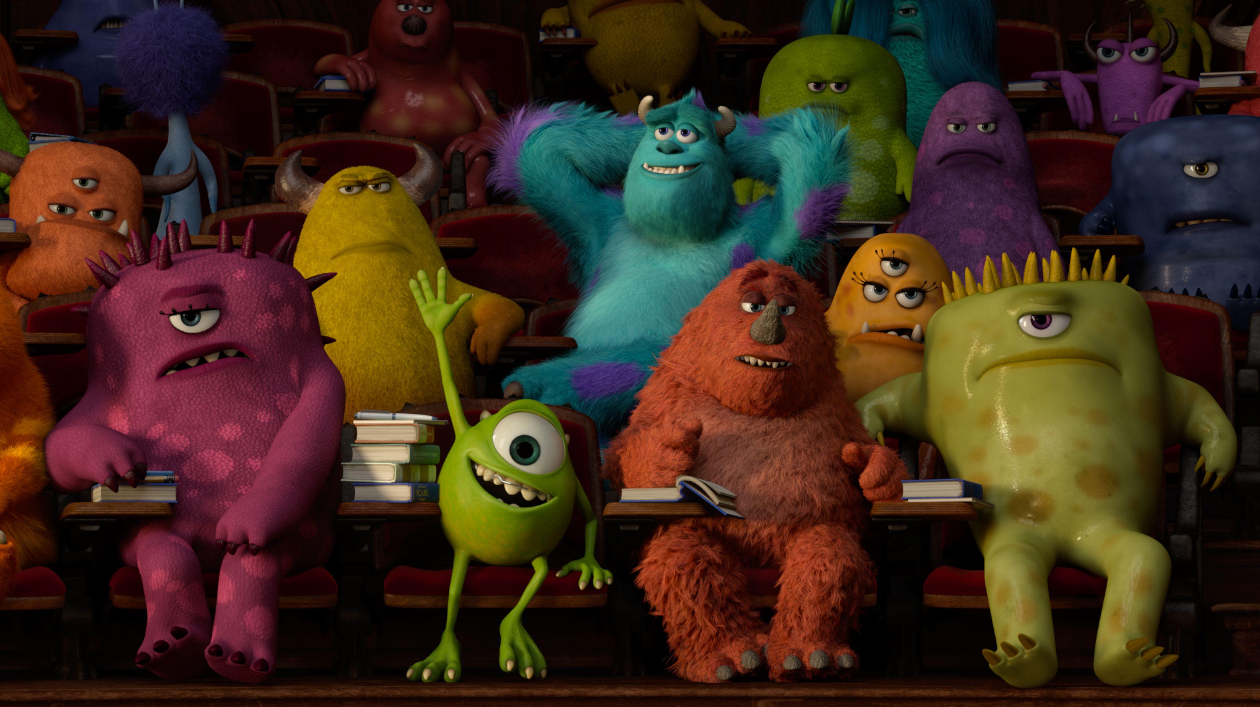 Mike weiß schon alles... #DieMonsterUni ©Disney•Pixar