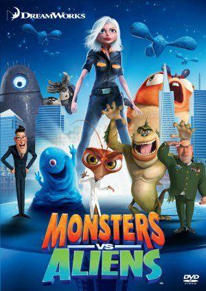Monsters vs Aliens 2009  Movies  Pinterest  Monsters vs