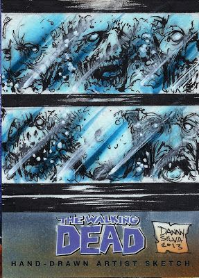 The Governor And His Head Aquarium Artwork For Walking Dead Comic Book Trading Card Set