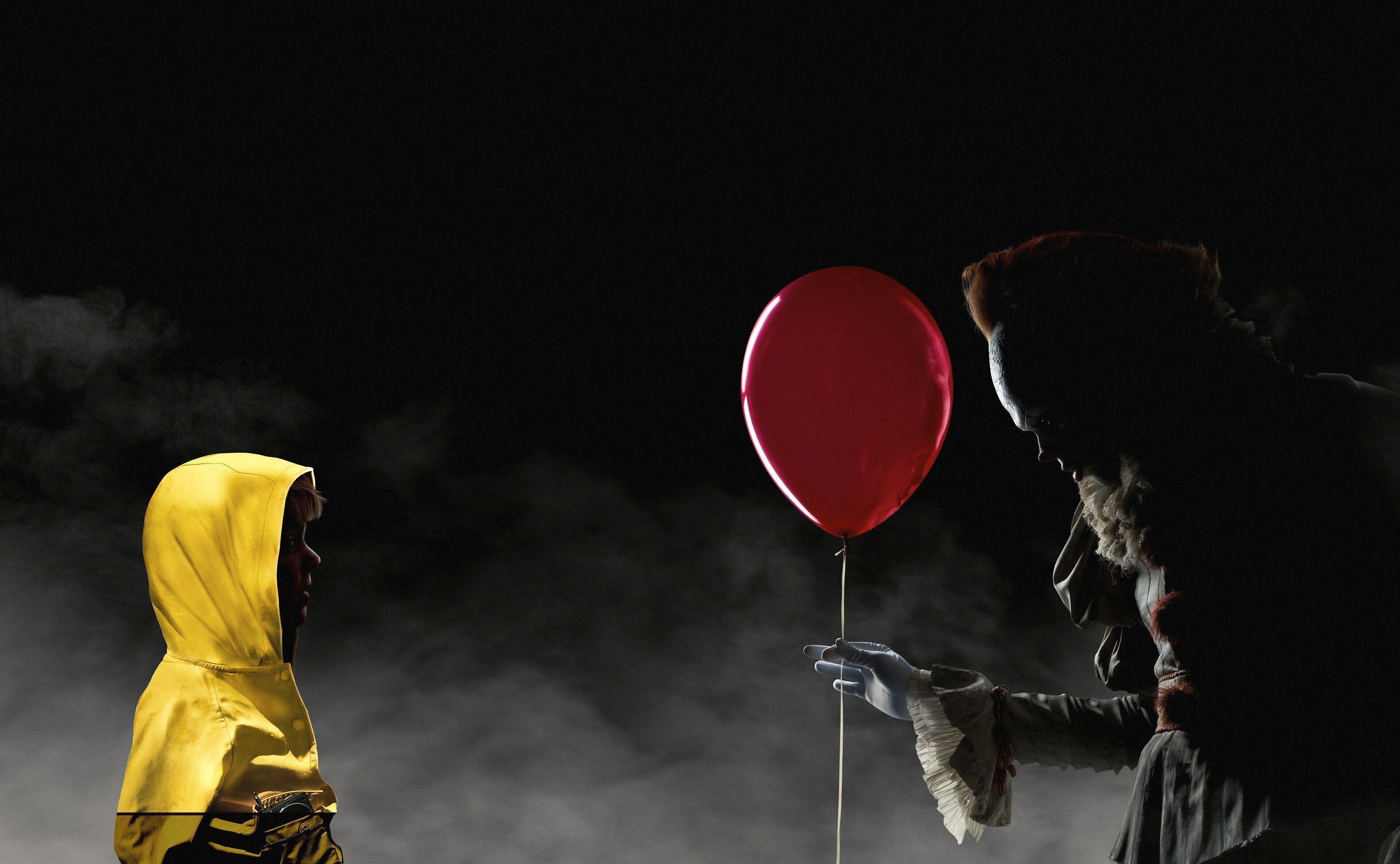 3840x2370 It 4k Nice Wallpaper Hd Pennywise Red Balloon 2017 Wallpaper