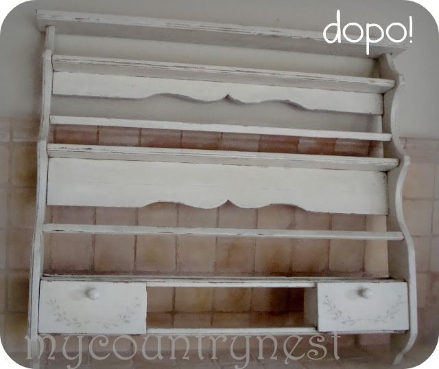 Piattaia shabby quando i mobili ci parlano decorazione - Decorazioni mobili shabby chic ...