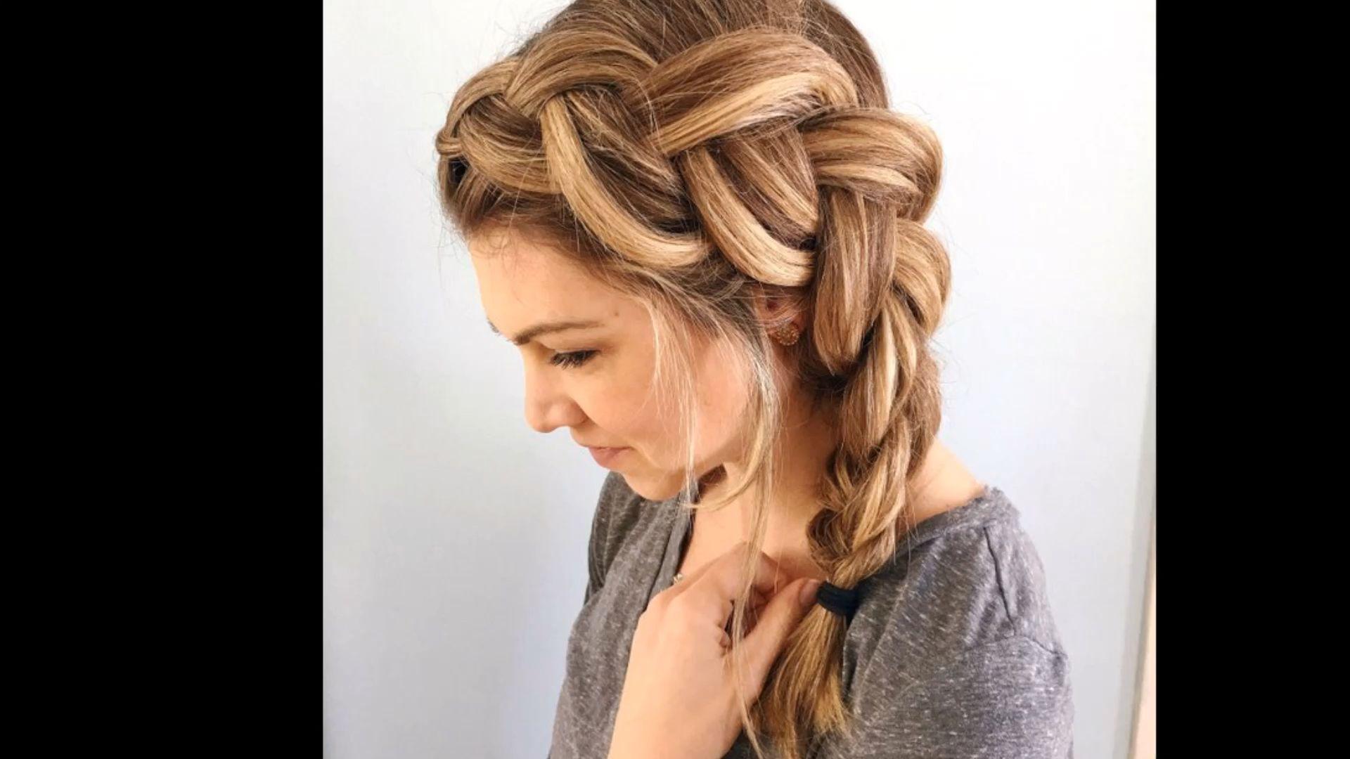 Side Braid video tutorial