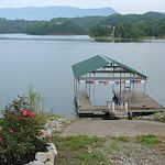 Dock At Lazy Man S Way Lakefront Log Home On Douglas Lake In Sevierville Tn