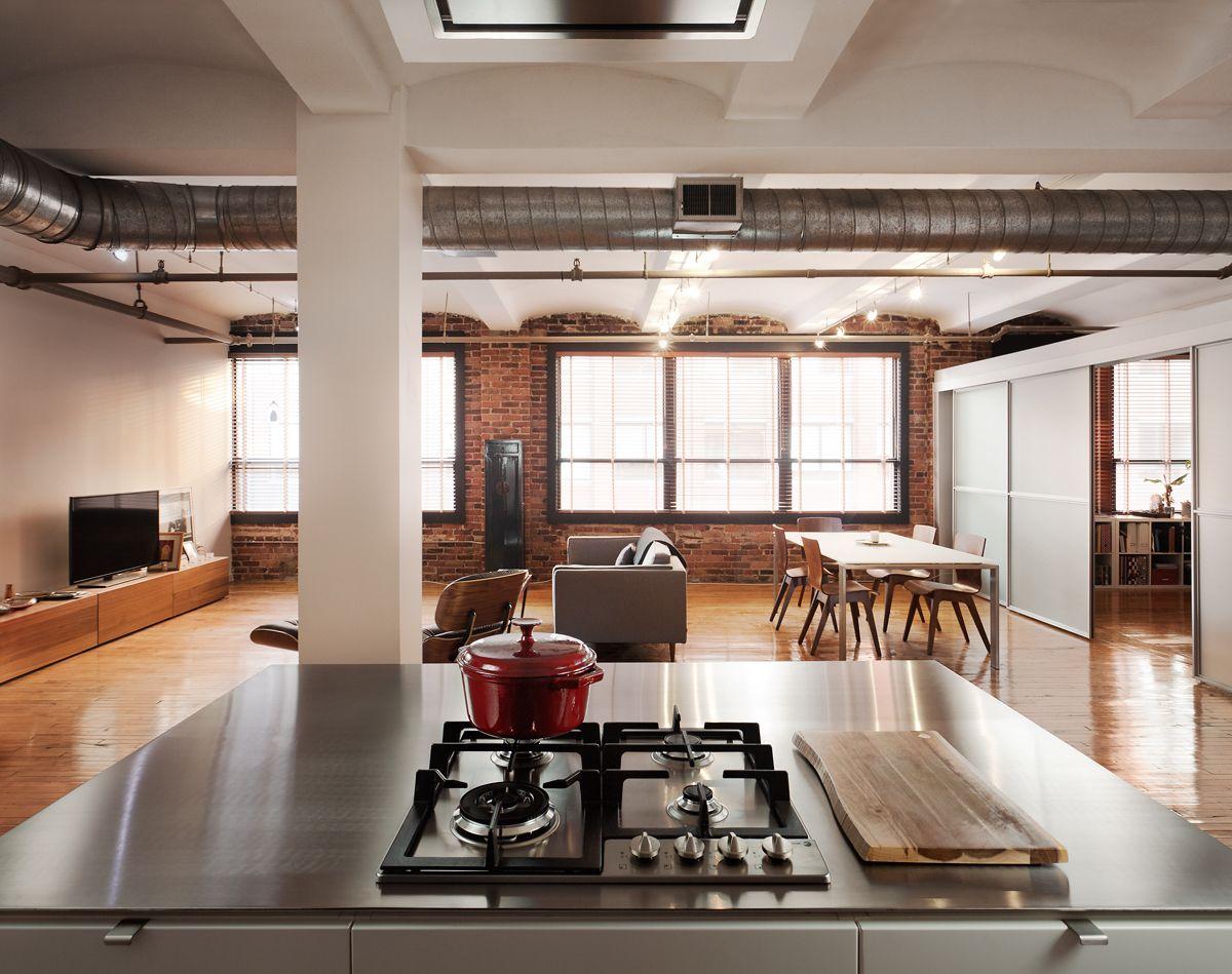 LD1 kitchen by Bunker Workshop Loft kitchen