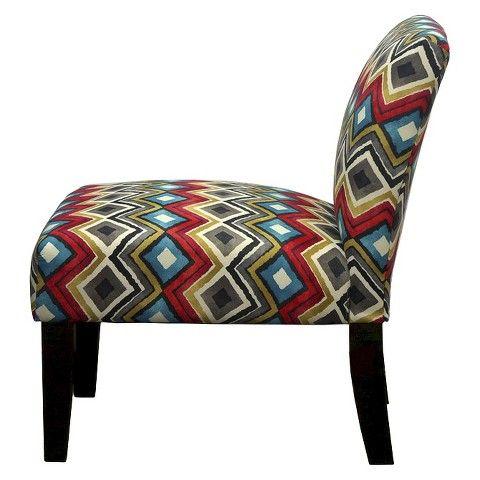 Avington Upholstered Slipper Chair Bold Diamond