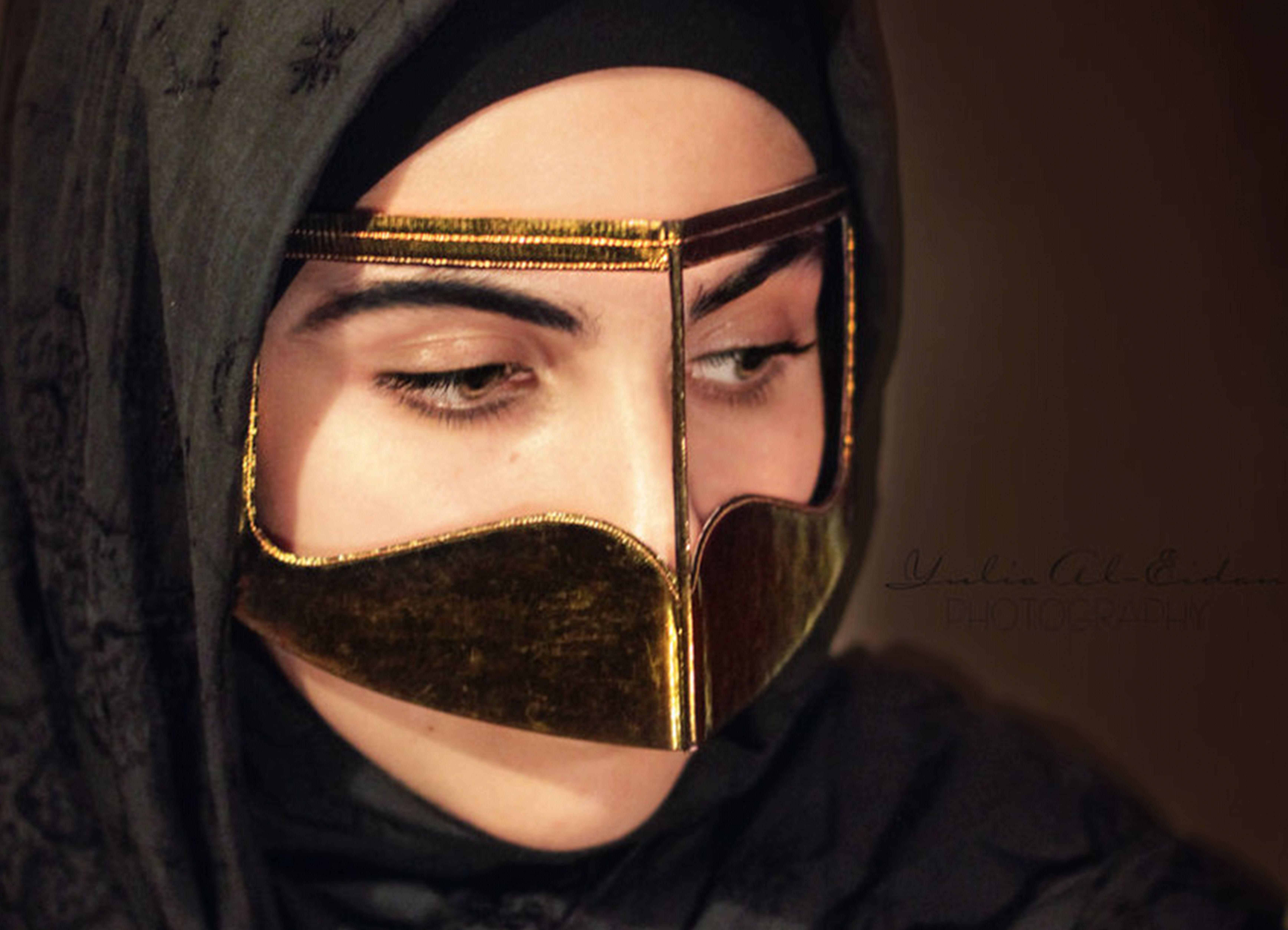 From Function To Fashion The Omani Burqa Mvslim Burqa Arabian Women Arab Women