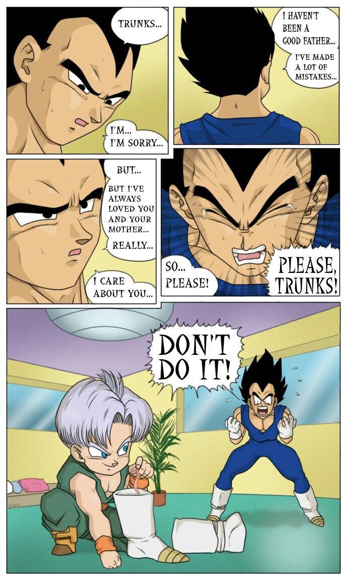 Goku strip bulma