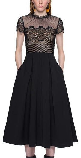Felicia  Embroidered Dress.   cd3ec4a11