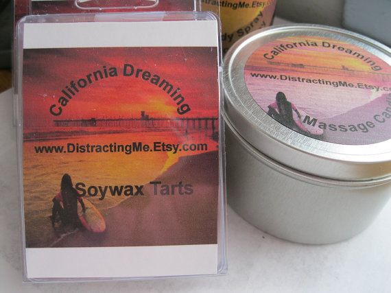 Soy Tarts  Tarts The Wick-less Candles California by distractingme