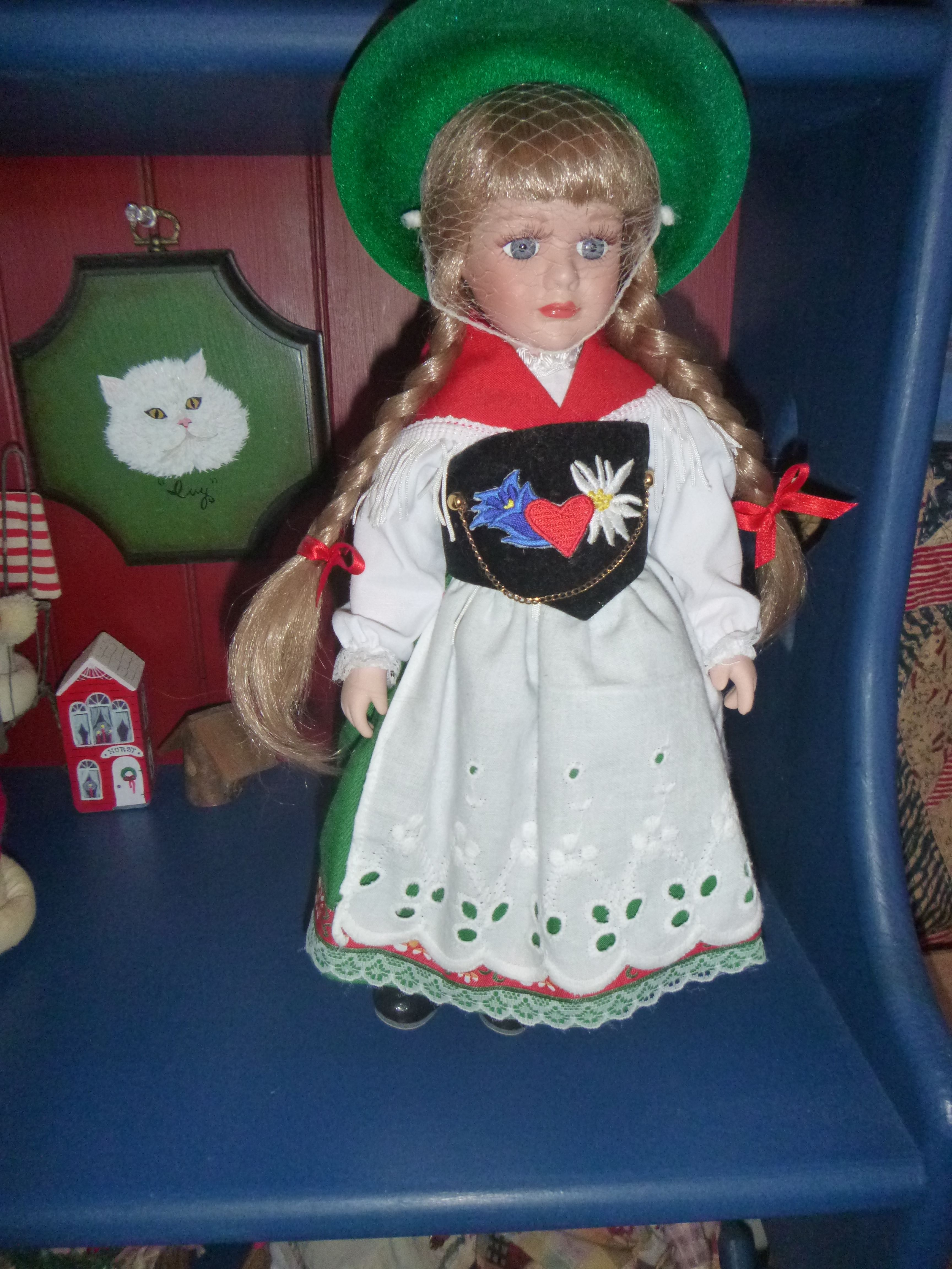 doll my daughter brought me from Germany