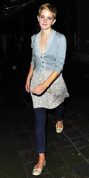 Emma Watson Fashion and Style - Emma Watson Dress, Clothes, Hairstyle - Page 21