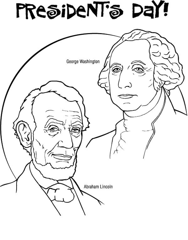 George Washington And Abraham Lincoln For Presidents Day Coloring Page Download Print Onlin Coloring Pages Memorial Day Coloring Pages Super Coloring Pages