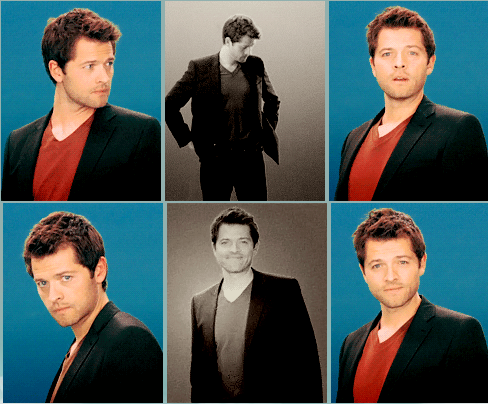 Misha Collins. My want of this man is bordering on unhealthy. I don't really care.