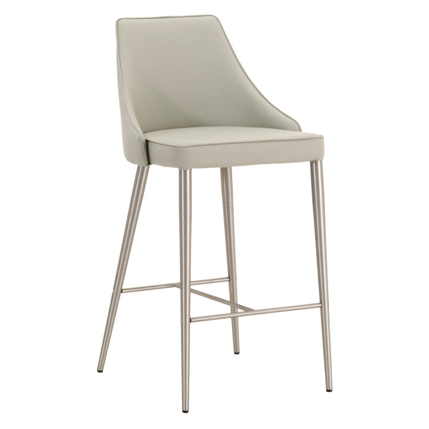 Ivy Counter Stool In 2021 Upholstered Bar Stools Steel Bar Stools Stainless Steel Bar Stools