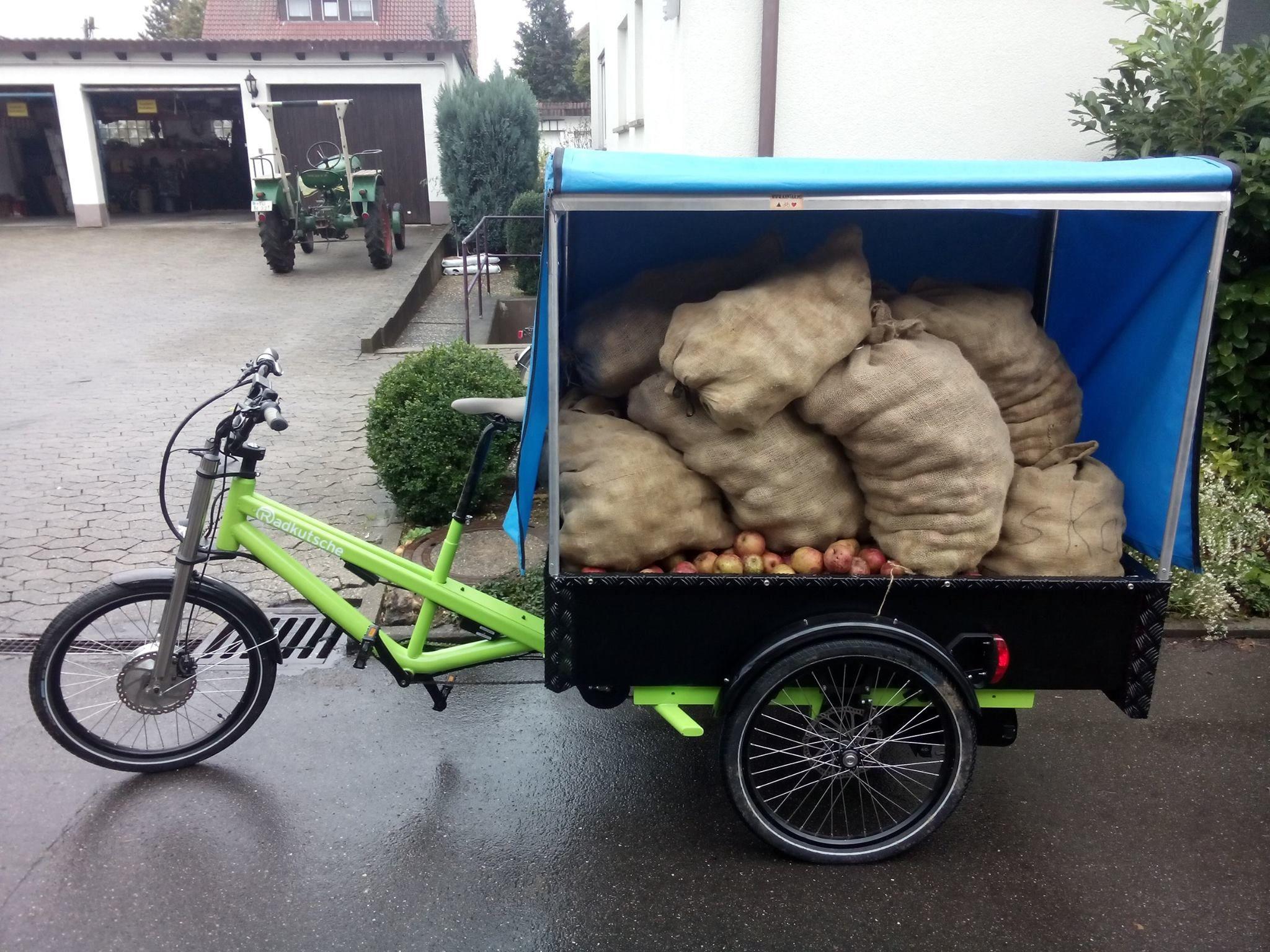 Ein nachhaltiges und attraktives Apfelmobil