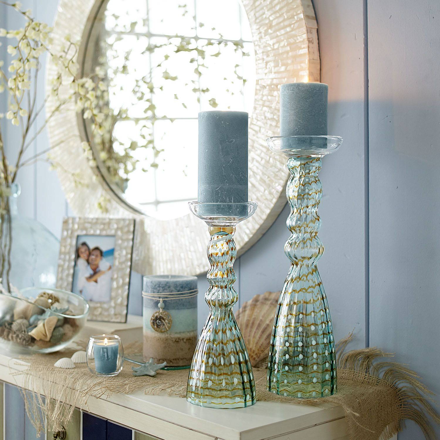 Pier One Bedroom Art Glass Pillar Stands Pier 1 Imports House Home Ideas