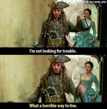 23 of the Funniest and Snappiest Movie Quotes - | Pirates ...