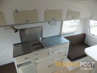 Simple Vintage Caravan Interior Australian