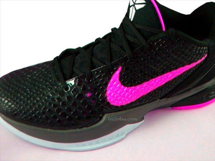 d688218d060 ... spain pink nike shoes nike zoom kobe bryant 6 black think pink shoes  nike kobe a7cf0