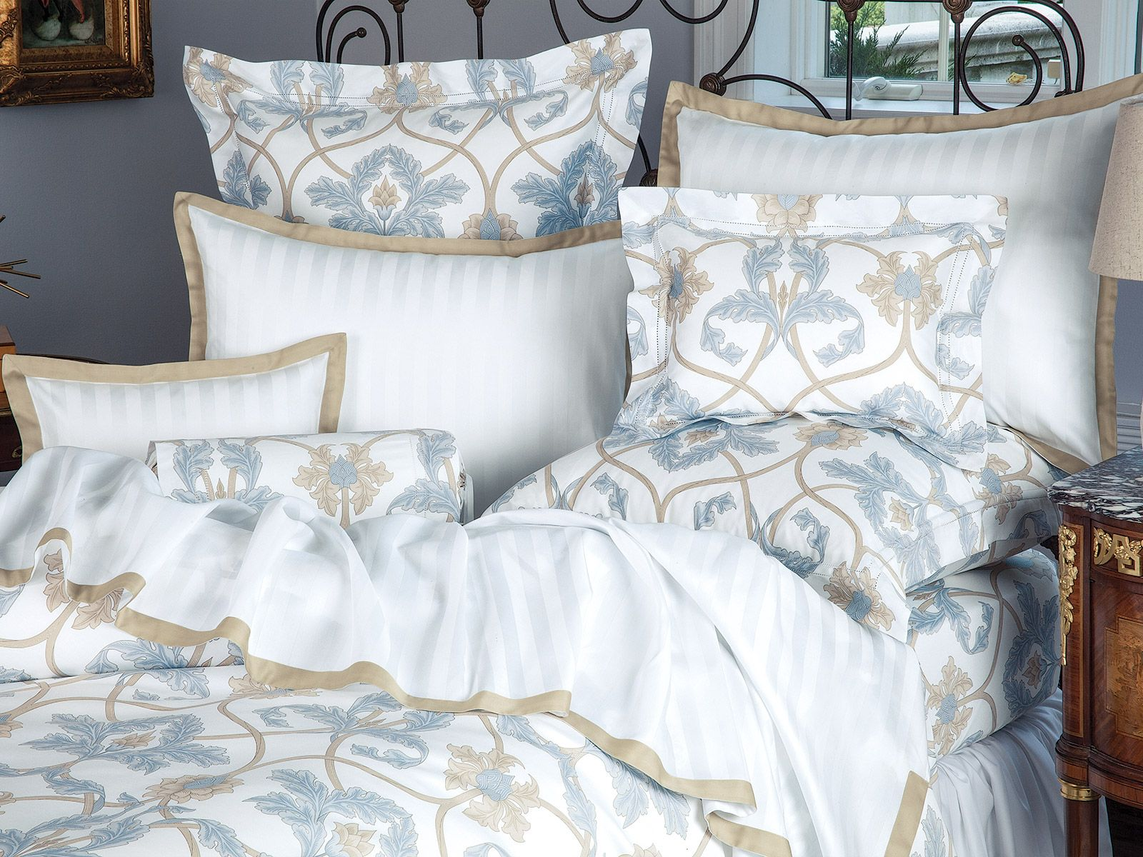 Lazio Luxury Bedding Italian Bed Linens Schweitzer