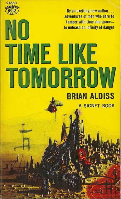 No Time Like Tomorrow, Brian Aldiss(1959), cover by Richard Powers