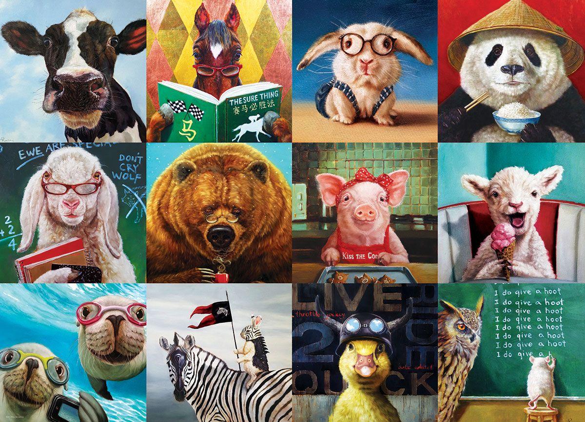 17+ Animal puzzles 1000 pieces ideas in 2021