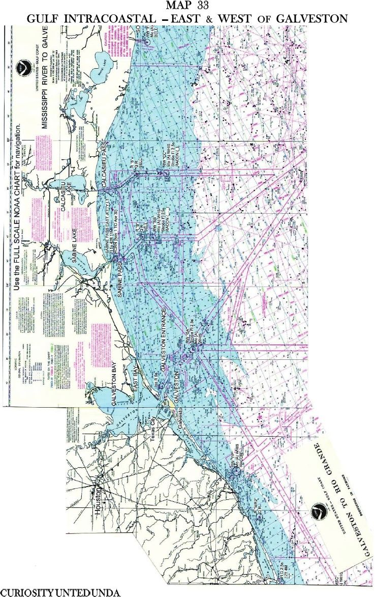 Mississippi River Basin Waters To The Sea Noaa Gulf Intercoastal East West Of Galveston Map 33 Galveston Map Galveston Curiosity