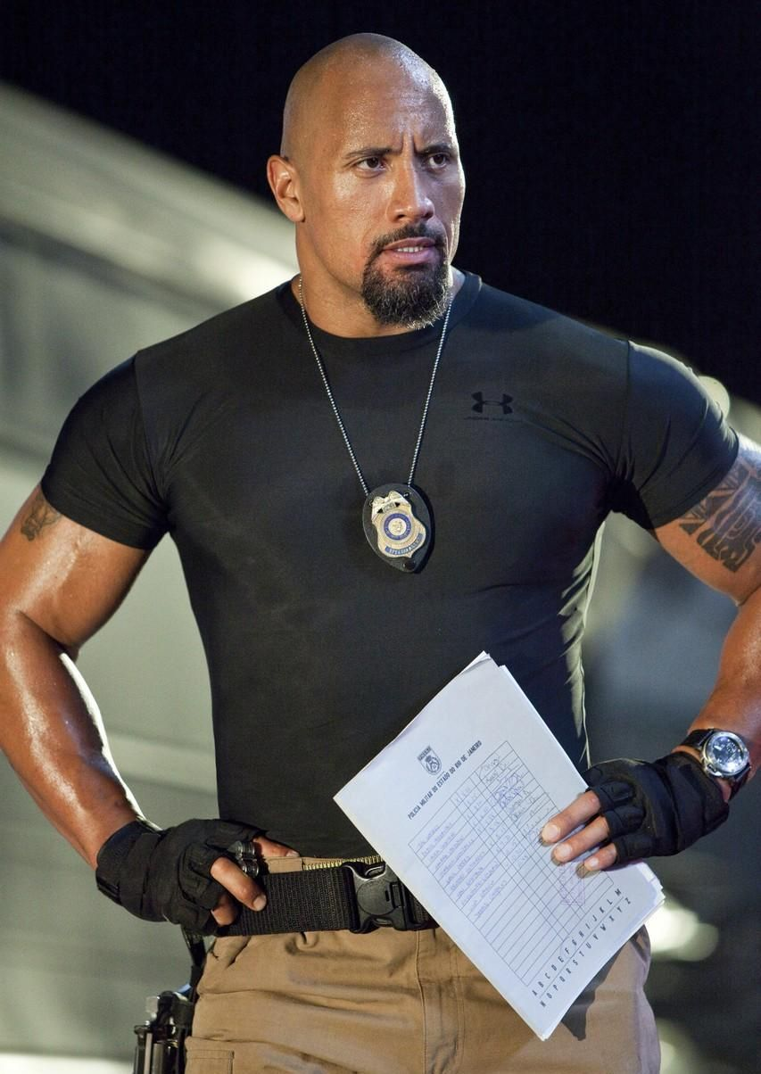 Dwayne Douglas Johnson, also known by his ring name The
