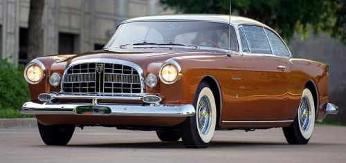 Chrysler ST Special 1955 by Ghia. One of just four ever