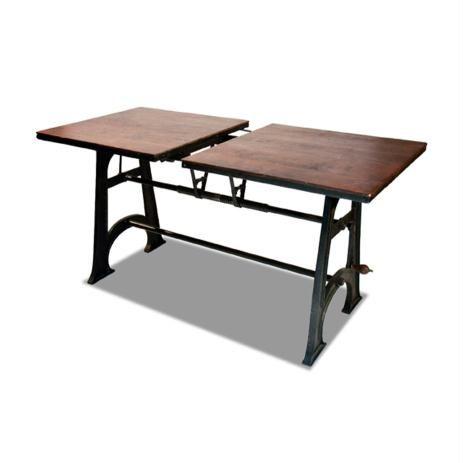 la table de repas extensible edison int rieur. Black Bedroom Furniture Sets. Home Design Ideas