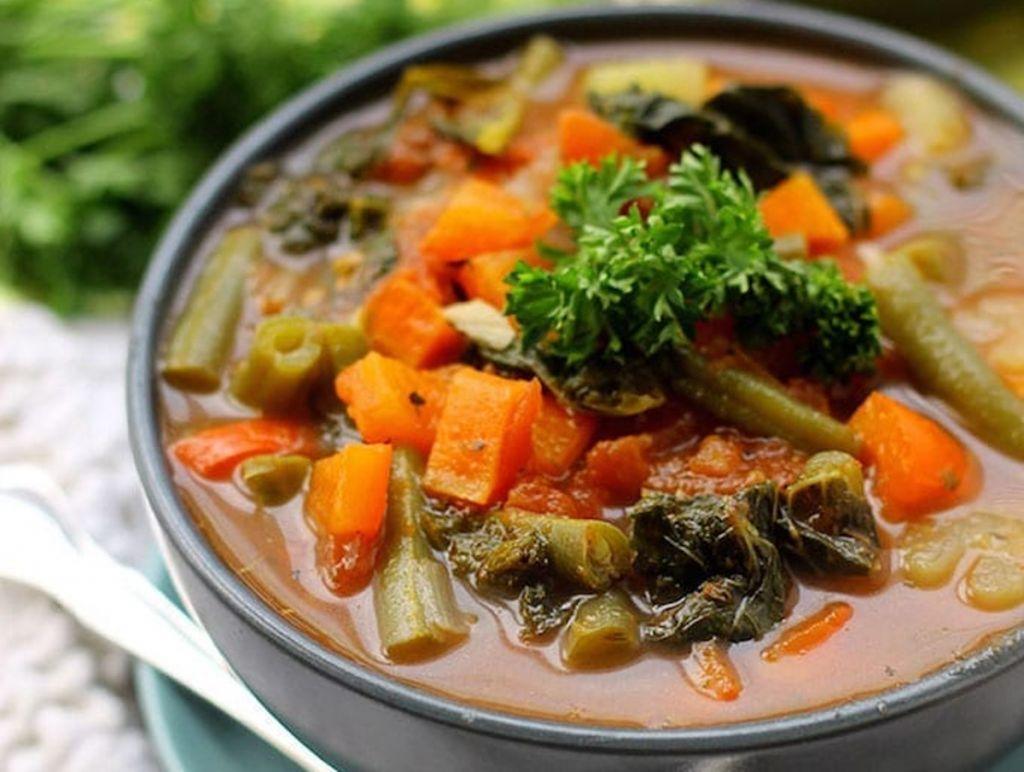 La recette facile de soupe aux légumes détox (Santé et