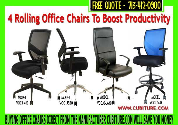 Free Shipping On All Rolling Office Chairs Buy Office Furniture