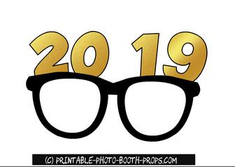2019 glasses props