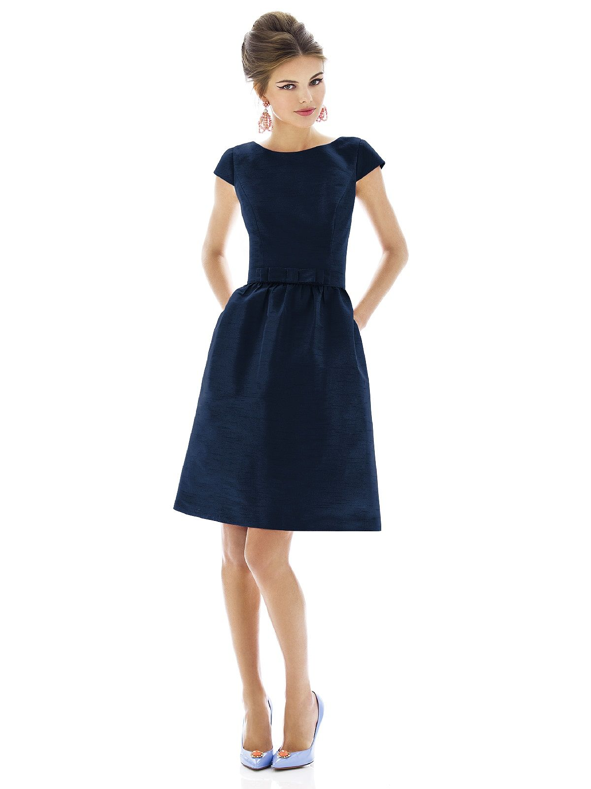 Alfred Sung Bridesmaid Dress D570 | Alfred sung, Navy and Clothes