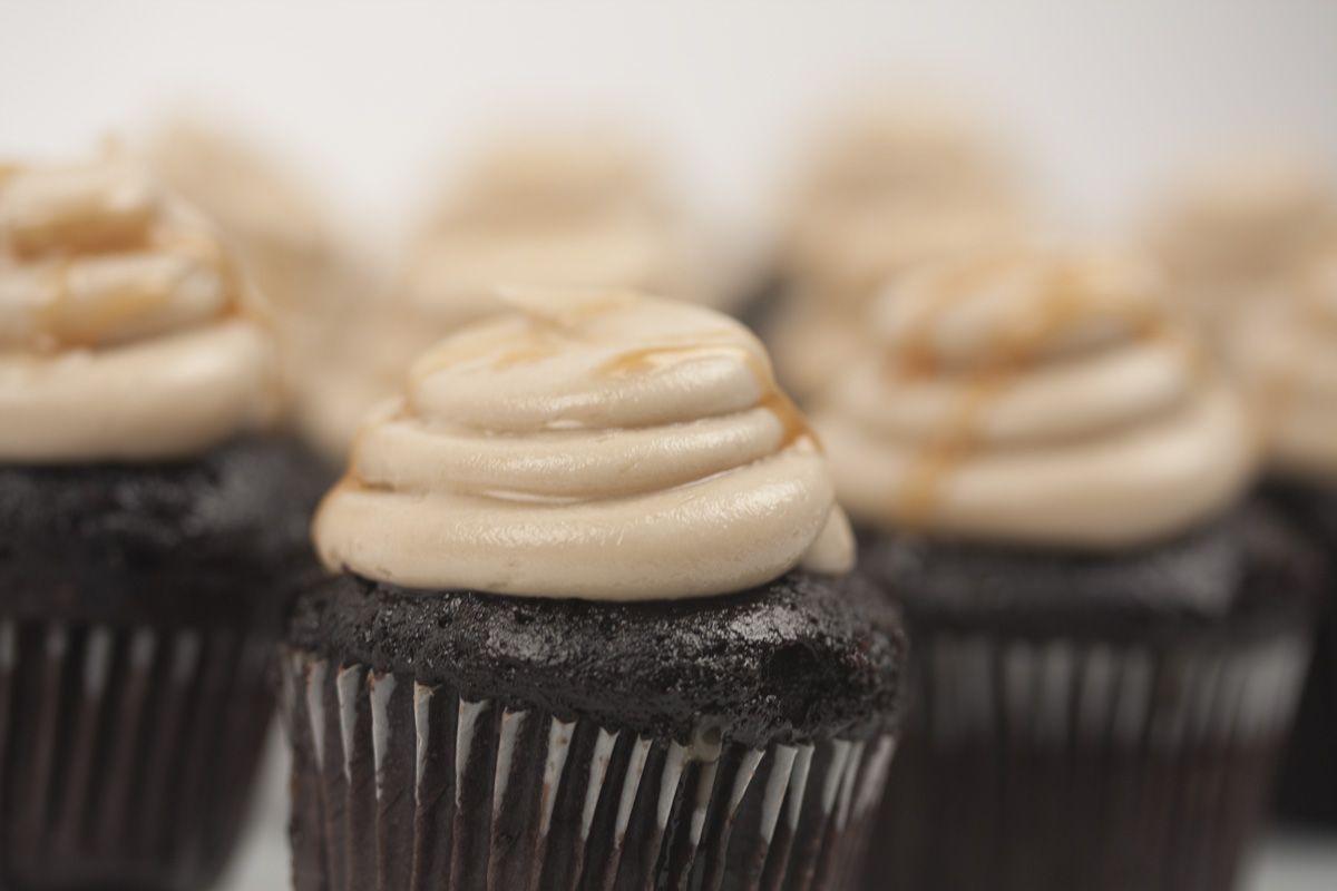 Salted Caramel - #cupcakes #eddascakes - http://eddascakes.com