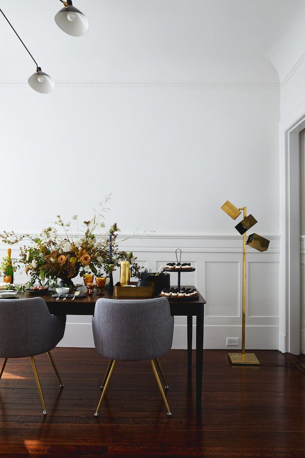 fall inspired party to welcome the new season dining rooms home rh pinterest com