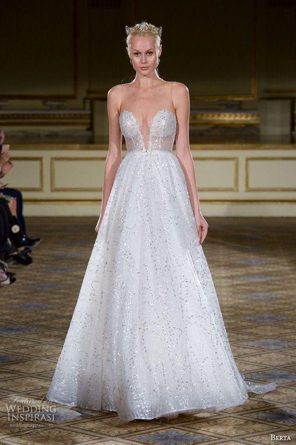 Berta Fall 2016 Wedding Dresses New York Bridal Runway Show Inspirasi
