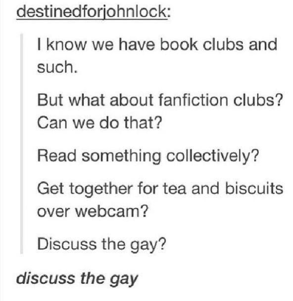 DISCUSS THE GAY