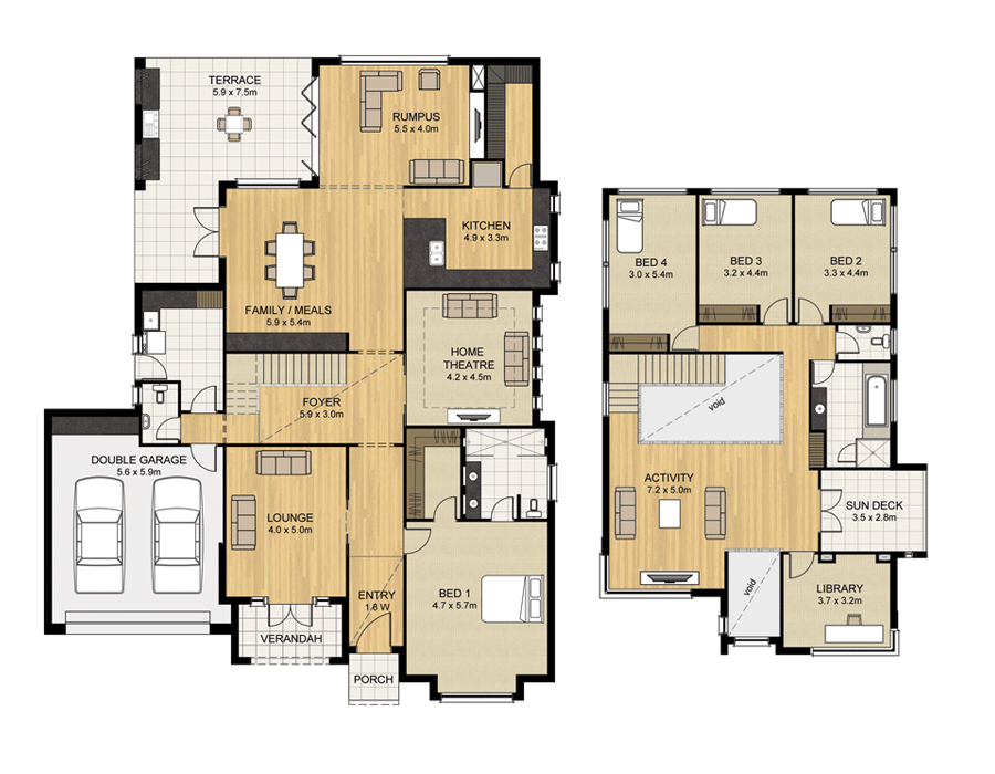 Somerton - Home Design - Sterling Homes - Home Builders Adelaide ...