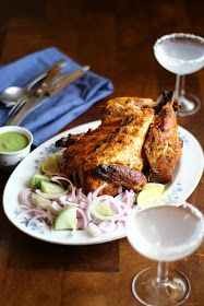 A Bit of This and A Bit of That: Tandoori Chicken with Coriander Dip