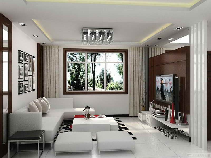 Indian Middle Class Home Interior Design Small Modern Living